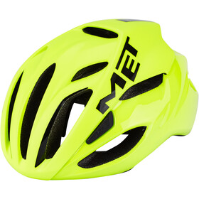 MET Rivale Fietshelm, safety yellow
